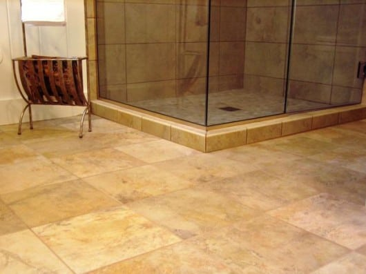 bathroom floor Archives | The Bathroom Vanity, Shower Door ...