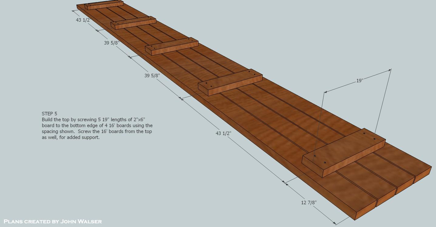 How to build a deck storage bench denver shower doors for Granite a frame plans