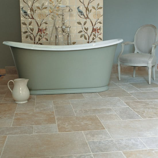 Linoleum On Bathroom Floor : Tile floors vs linoleum denver shower doors