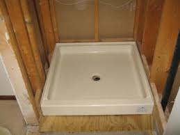 Delightful Fiberglass Shower Pan
