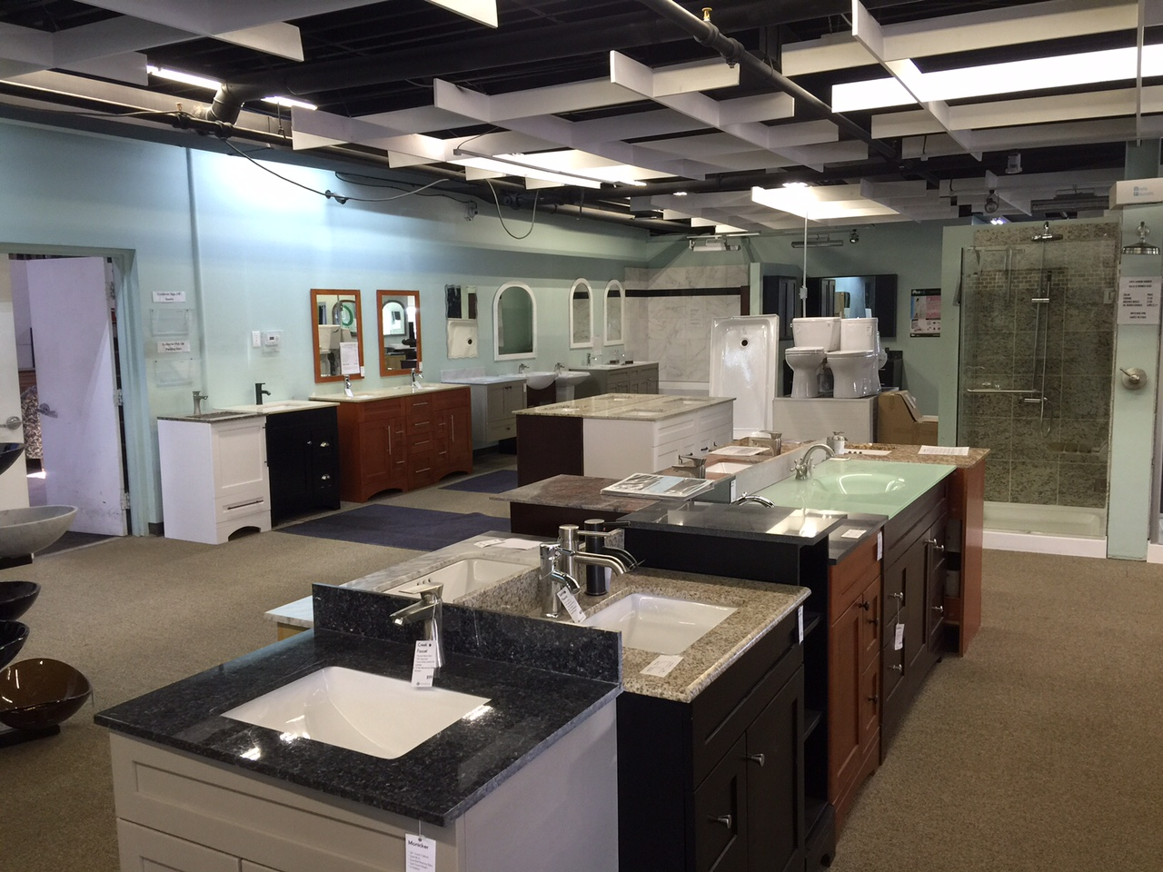 Granite Showrooms : Bathroom Showroom in Denver - Denver Shower Doors & Denver Granite ...