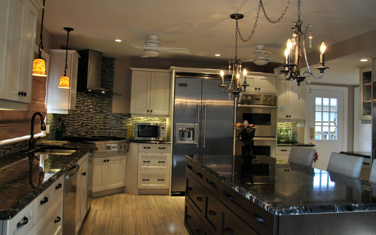 Kitchen Black Granite : Denver kitchen countertops shower doors