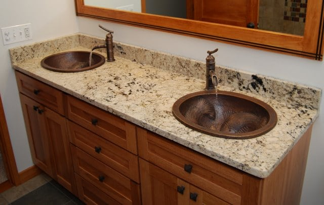Granite Bathroom Vanity Tops colorado springs bathroom countertops - denver shower doors