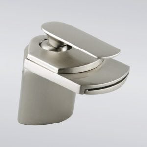 voda faucet short stream brushed nickel