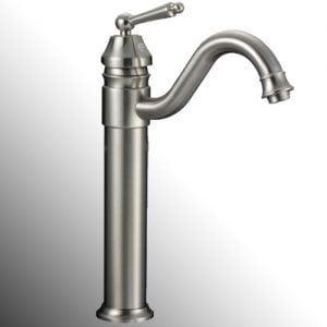 voda tall lake faucet brushed nickel