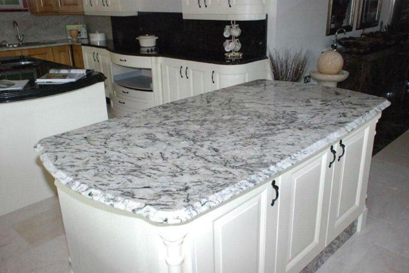 White Ice Granite 3 Bath Granite Denver