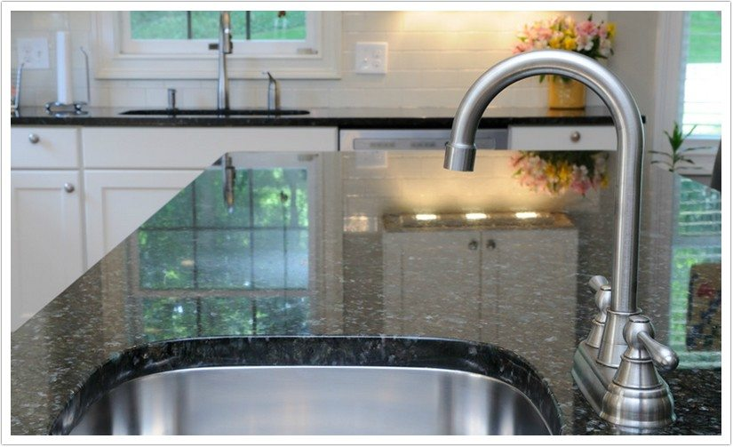 Deep Blue Pearl Granite Bath Amp Granite Denver