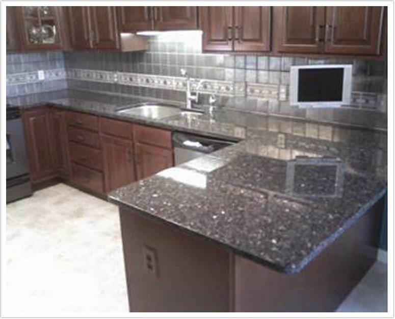 28 blue granite countertops kitchen kitchen blue for Blue countertops kitchen ideas