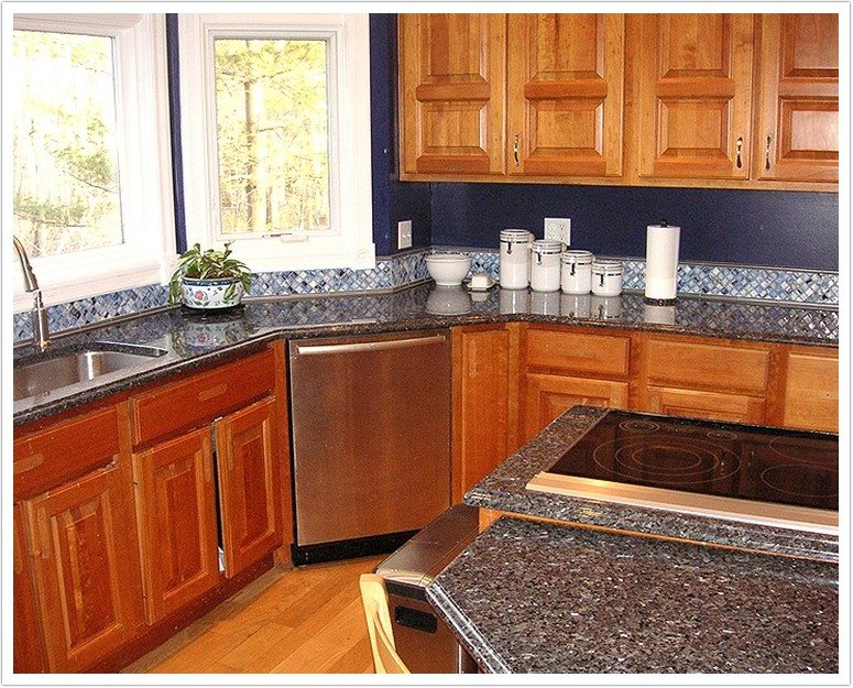 Deep Blue Pearl Granite Denver Shower Doors Amp Denver