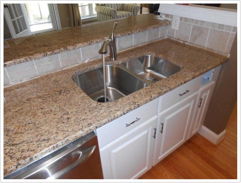 Giallo Napoli Granite Bath Granite Denver