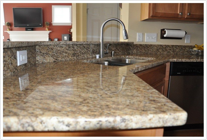 Giallo Ornamental Granite Bath Amp Granite Denver