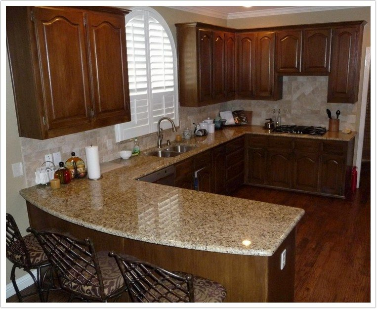 Honey Oak Cabinets With White Granite Countertops 27 Best