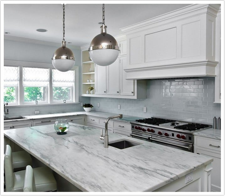 Denver Kitchen Countertops Arabescus Marble 018