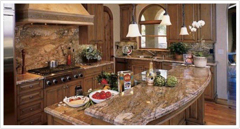 Marvelous Countertops For White Kitchen Cabinets #4: Denver-kitchen-countertops-bordeaux-river-001.jpg