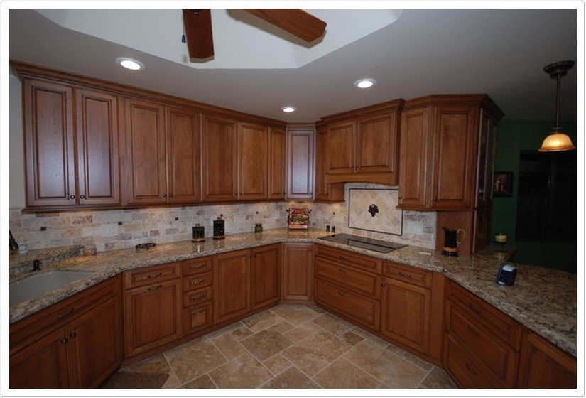 Kitchens Tile Countertops