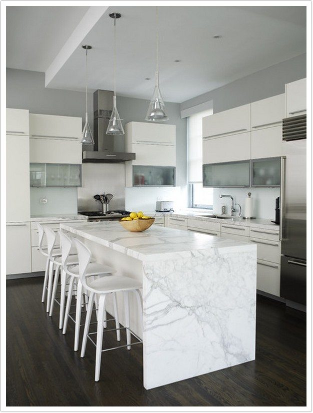 Denver Kitchen Countertops Calacatta Marble 010