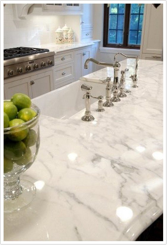 Calacatta White Marble Denver Shower Doors Denver