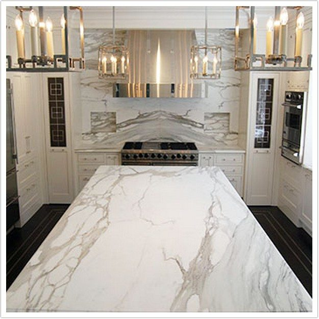 Calacatta White Marble Bath Amp Granite Denver