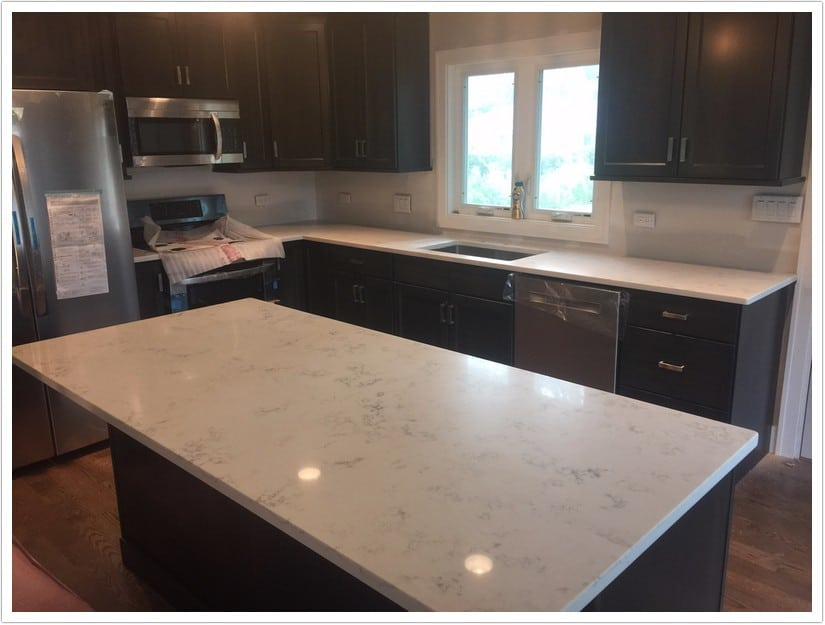 Carrara Grigio Msi Quartz Bath Amp Granite Denver