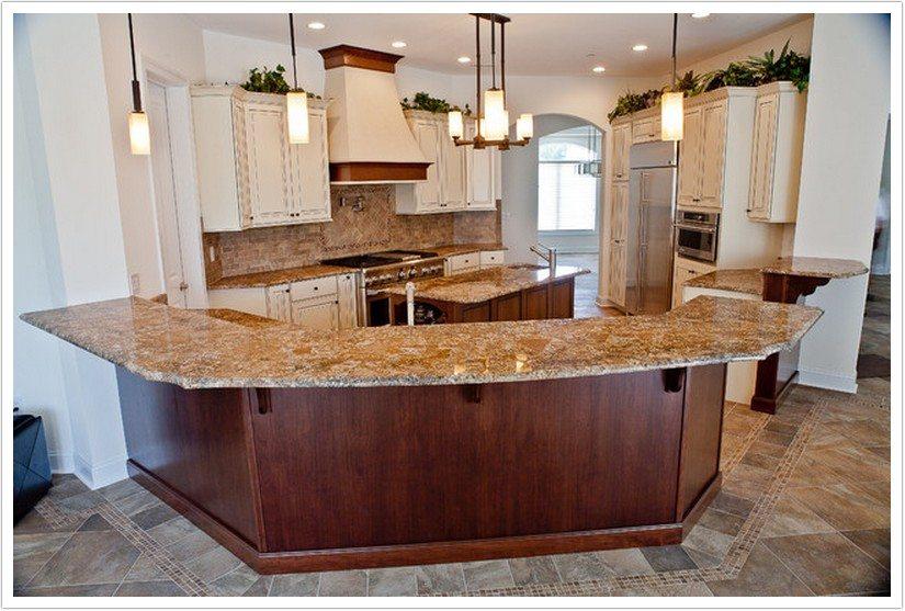 Choco Yellow Granite - Denver Shower Doors & Denver Granite Countertops
