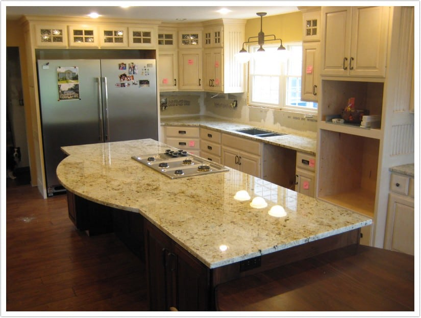 Denver Kitchen Countertops Colonial Gold 001