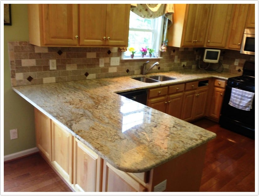 Denver Kitchen Countertops Colonial Gold 005