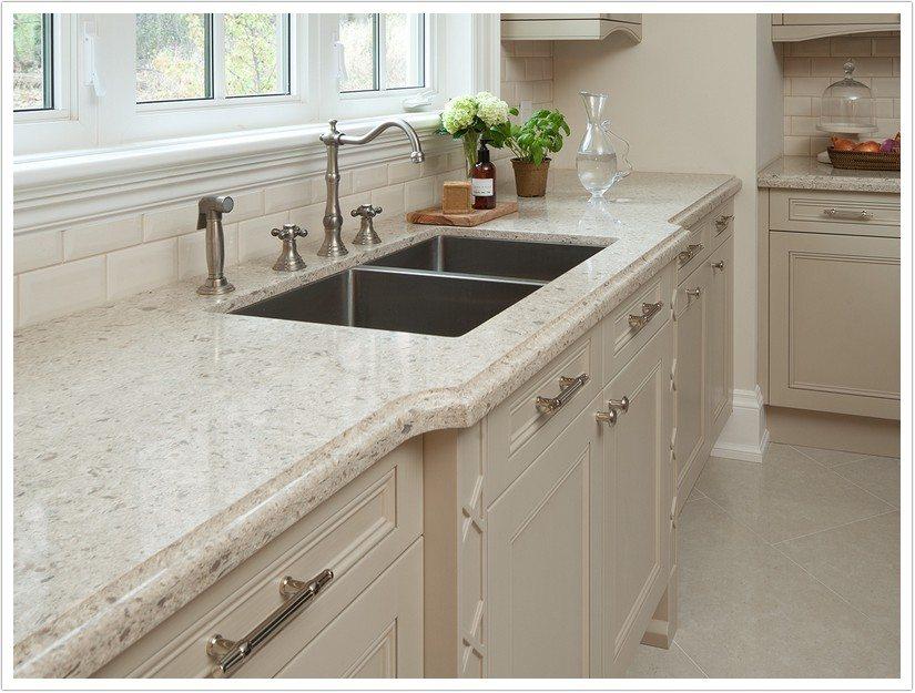 Cream Kitchen Cabinets With Granite Countertops