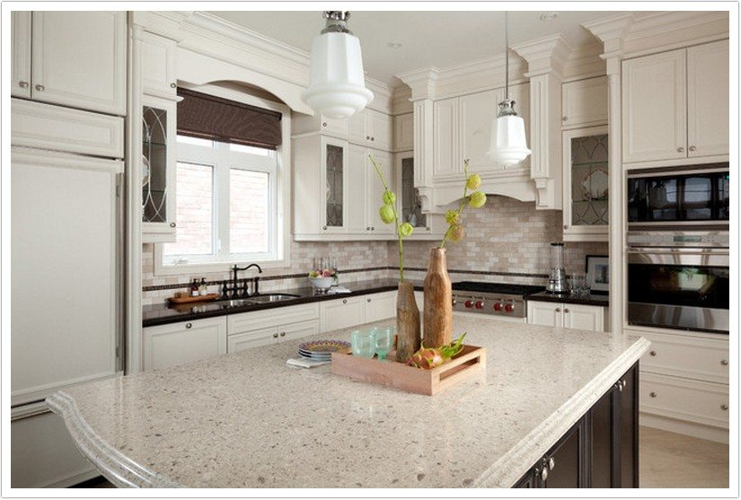 quartz countertops home depot vs lowes cambria problems kitchen