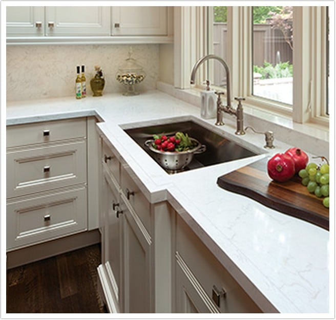 Gray Kitchen Cabinets with White Kitchen Cabinets With Light