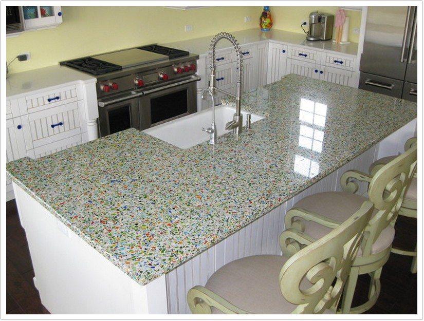 Charming Denver Kitchen Countertops Millefori Vetrazzo 011