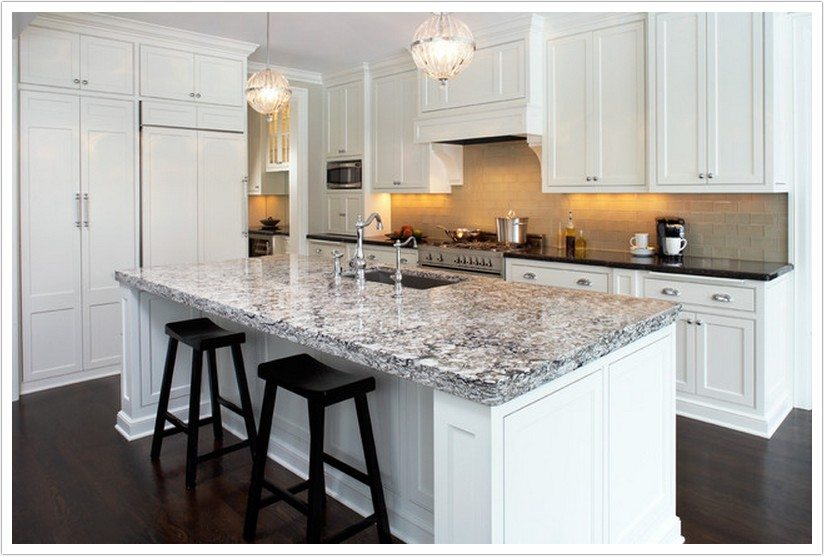 Semi Custom White Kitchen Cabinets