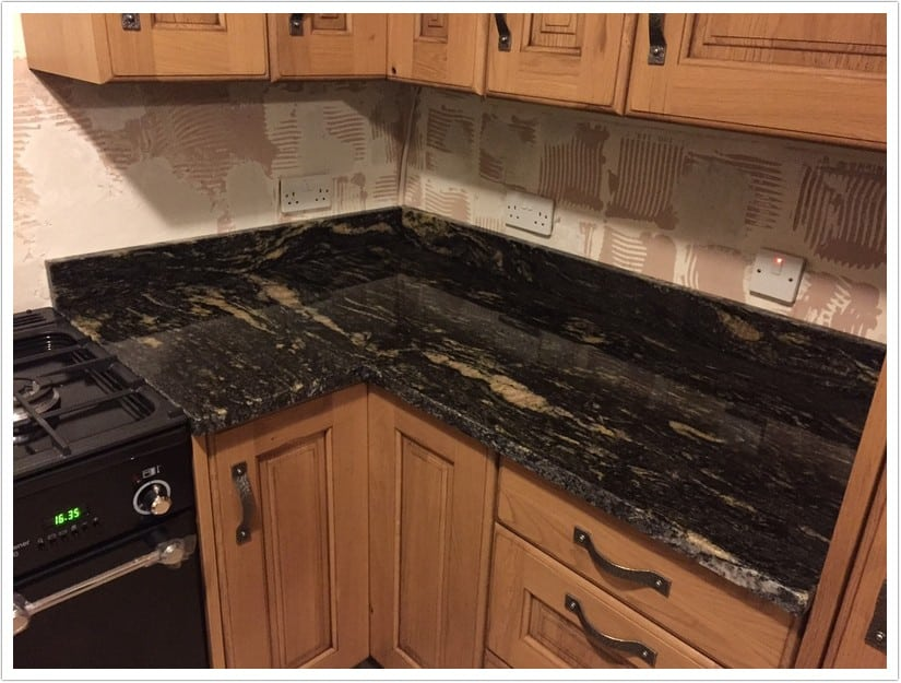 Denver Kitchen Countertops Titanium Black 006