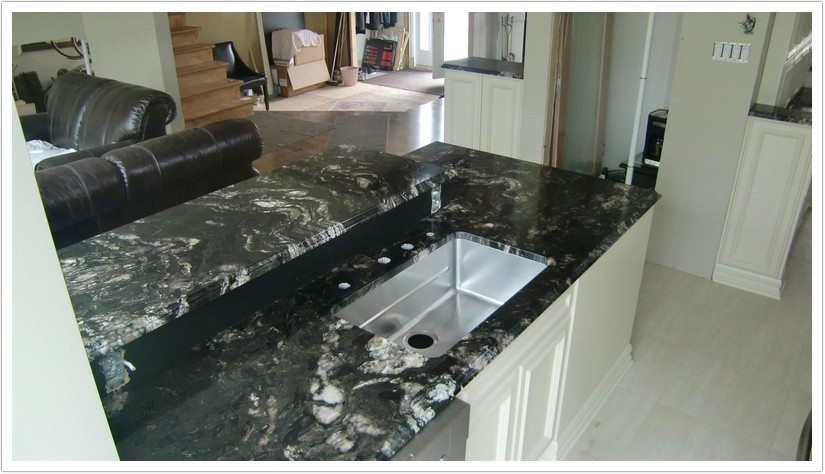 Black Granite Countertops Kitchen Pictures