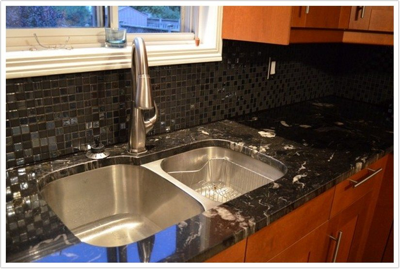 titanium black granite kitchen sink titanium. beautiful ideas. Home Design Ideas