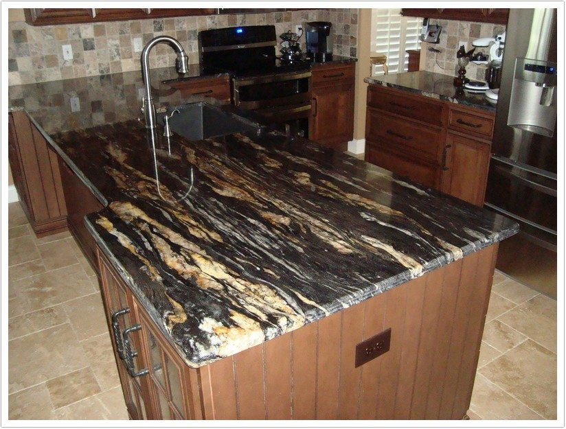 Kitchen Countertops Made Of Tile