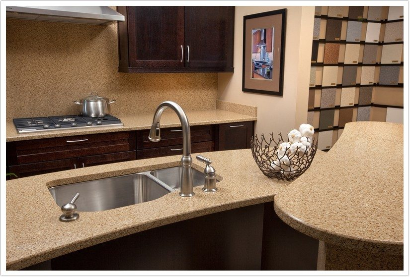Toasted Almond Msi Quartz Bath Amp Granite Denver