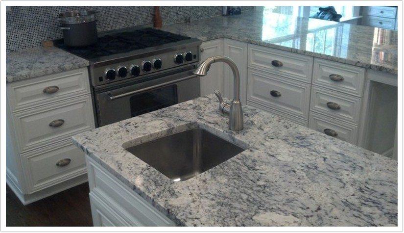 White Ice Granite - Denver Shower Doors & Denver Granite Countertops