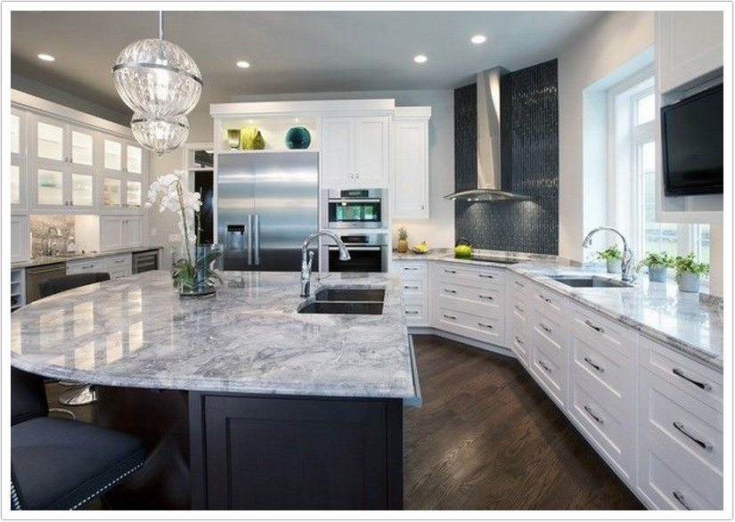 What Color Handles For White Kitchen Cabinets