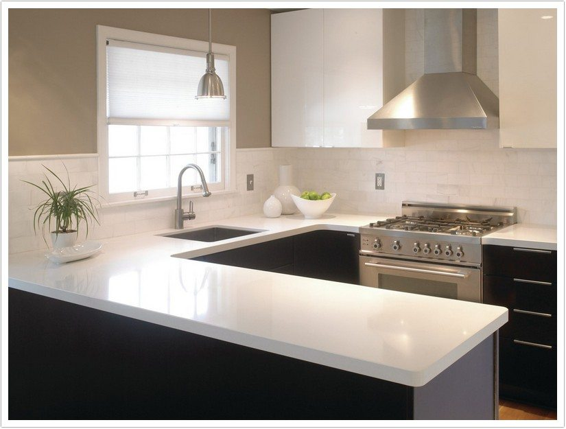 Kitchen Countertops Quartz sparkling white msi quartz - denver shower doors & denver granite
