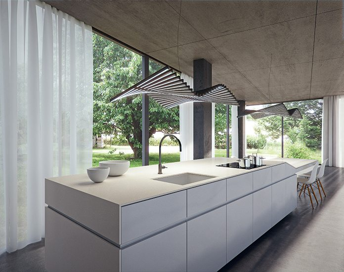 Fresh Concrete Caesarstone Quartz