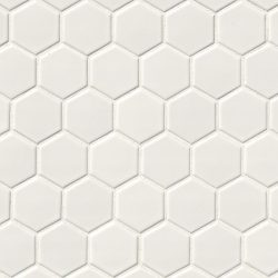 white-glossy-2x2-hexagon-mosaic