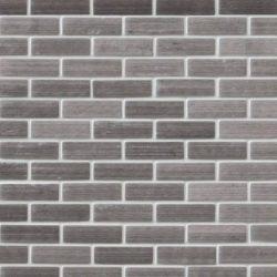 Silver-Metal-0.75x2.5-Brick-Pattern
